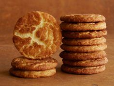 Snickerdoodles recipe from Trisha Yearwood via Food Network