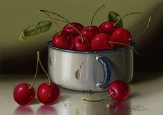 simple still life on canvas - Google Search