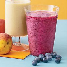 Blueberry-Pomegranate Smoothie Recipe | MyRecipes