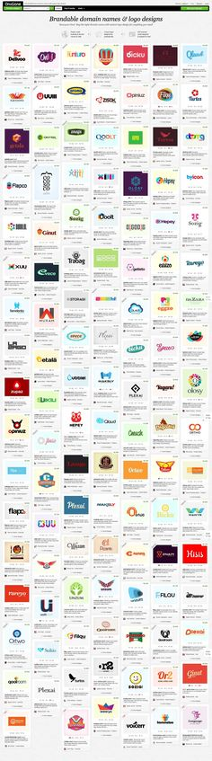 No idea about how to design a logo for your company, new business, start-up or new product? On is an online marketplace where you will find a variety of brandable domain names and professionally crafted logo designs available for sale. We are one stop shop for you if you are starting a new company, introducing a new product or service, or thinking about a corporate makeover!