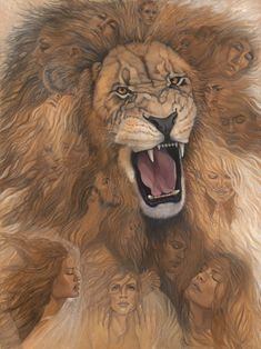 "Gallery Greeting Card ""The Roar of Intercession"" - Click Image to Close"