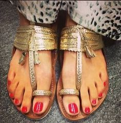 Summer Bohemia Style Ethnic Beaded Sandals Clip Toe Sandals Step n Style Women Sandals