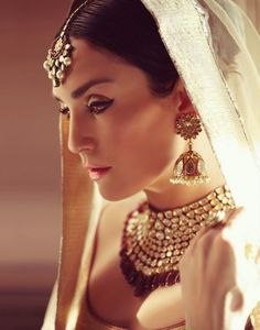 IT'S PG'LICIOUS #bridal jewelry #indianbride