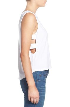 Leith Side Strap Tank