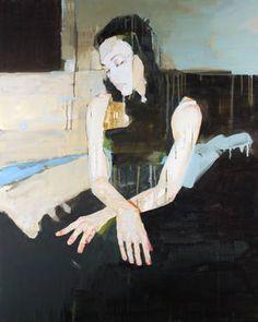 "Saatchi Art Artist Christopher Stacey; Painting, ""Frank"" #art"