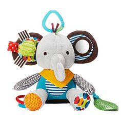 Skip Hop Bandana Buddies Soft Activity Toy Elephant >>> Continue to the product at the image link.Note:It is affiliate link to Amazon.