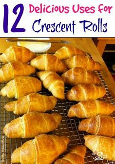 12 Easy Snacks You Can Make With Crescent Roll Dough (PHOTOS)