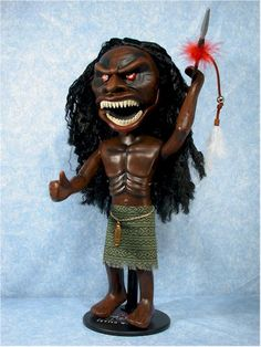 Trilogy of Terror - this TV story scared the crap out of me!!