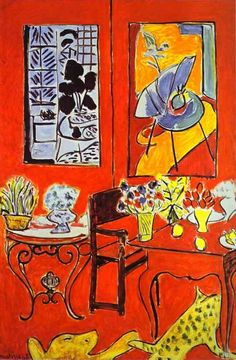 Henri Matisse - Large Red Interior