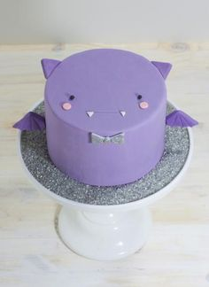 Bat Halloween Cake by Whipped Bakeshop in Philadelphia