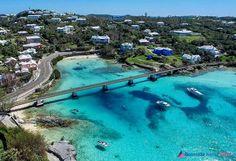 New walk bridge Bay Corner, Bermuda