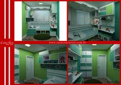 O quarto infantil, além de seguro pode vir com uma decoração lúdica. A iluminação contribui na formação do ambiente escolhido e permite que a imaginação tome conta de todos!