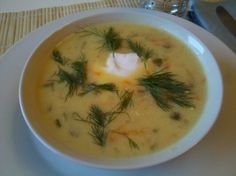 Polish dill pickle soup..... So delish Recipe from Polish Village in Hamtramck