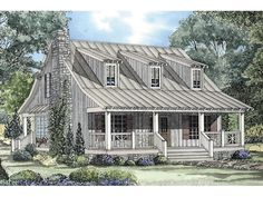 Discover the Edelen Cabin Cottage Home that has 3 bedrooms and 2 full baths from House Plans and More. See amenities for Plan Small Cottage House Plans, Small Cottage Homes, Cottage Floor Plans, House Plans One Story, House Plans And More, Country Style House Plans, Cottage Plan, Modern House Plans, House Floor Plans