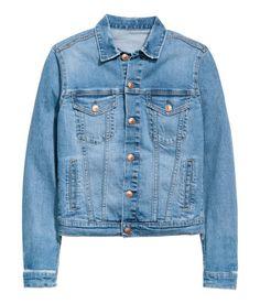 Denim Jacket (+ Distressed Details)   H&M