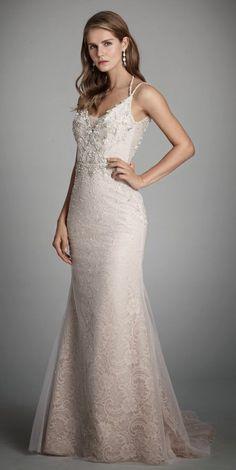 Courtesy of Alvina Valenta Wedding Dresses from JLM Couture; Spring 2017 Wedding Dresses, Wedding Dresses Plus Size, Alvina Valenta Wedding Dresses, Bridal Gowns, Wedding Gowns, Mod Wedding, Sparkle Wedding, Dream Wedding, Mermaid Dresses