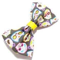 Sugar Skull Bow  #handmade  #thecraftstar  $6.00