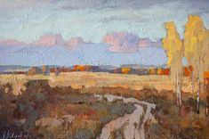 Por amor al arte: Alexander Zavarin Russian Landscape, Landscape Art, Landscape Paintings, Mark Keller, Impressionist Paintings, Paintings I Love, Russian Art, Art Oil, Painting Inspiration