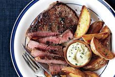 Make a French bistro staple at home with this Steak Frites recipe