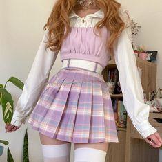 Swaggy Outfits, Cute Casual Outfits, Pretty Outfits, Kawaii Fashion, Cute Fashion, Aesthetic Fashion, Aesthetic Clothes, Teen Fashion Outfits, Girl Outfits