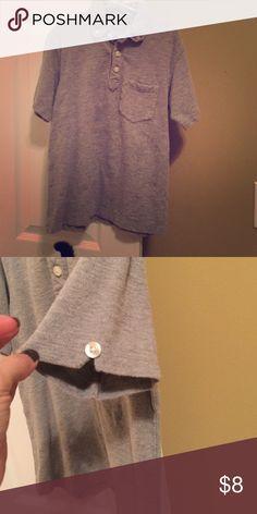 Boys Gap polo Boys 3 button polo. Has buttons on sleeves too. Great condition! GAP Shirts & Tops Polos