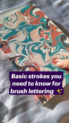 Basic Calligraphy, Calligraphy Lessons, Calligraphy For Beginners, Hand Lettering Alphabet, Calligraphy Alphabet, Brush Lettering, Brush Pen Art, Bullet Journal Lettering Ideas, Hand Lettering Tutorial