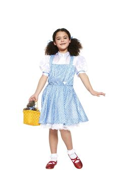This Dorothy costume inspired by the Wizard of Oz would make a super cute World Book Day costume for kids. Pick it up from partydelights.co.uk.