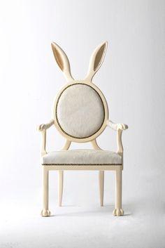 Bunny chair!!! So cu