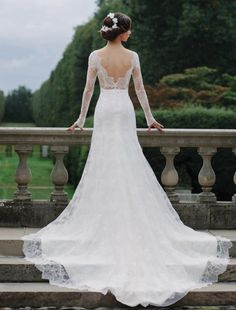 Bridal runway trends: Sareh Nouri wedding dress; photo: Millie B Photography