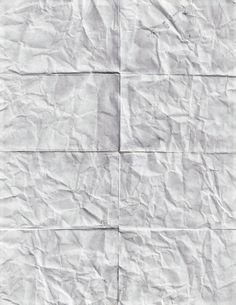 Folded and scratched paper texture by Simon H., via Behance