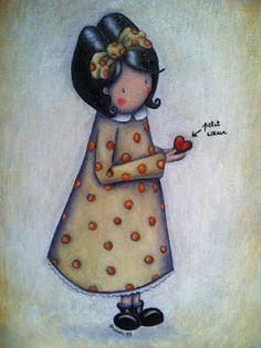 Illustration d'Andréa Jaubert, Petit coeur