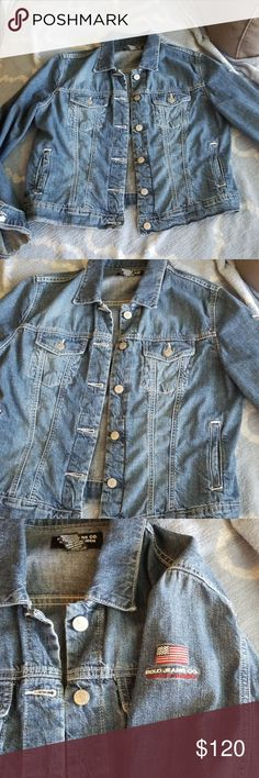 e46bc48f8625 VTG 90's Polo Jeans 100% cotton Denim Jacket This is THE perfect denim  jacket!