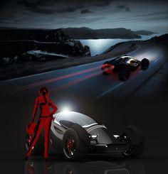 zeleritas concept car | TechCracks | Zeleritas Car Concept by Willie Tay