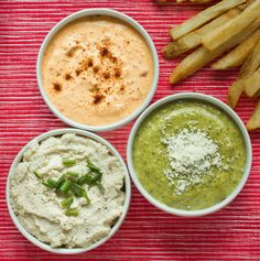 Recipe:  Simply French Fry Dipping Sauces, Three Ways   Recipes from The Kitchn