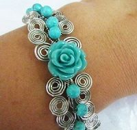 How to Embellish Egyptian Coil Link Tutorial