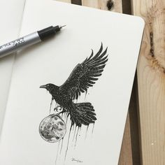 Creative artist Kerby Rosanes, an illustrator based in Manila, Philippines. Kerby Rosanes uses ink primarily in their drawings. For more drawings →View Website Symbol Tattoos, Body Art Tattoos, Tattoo Drawings, Fox Tattoos, Tree Tattoos, Deer Tattoo, Tattoo Ink, Hand Tattoos, Tattos