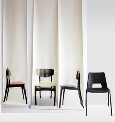 Chairs #Wallpaper by Deborah Bowness