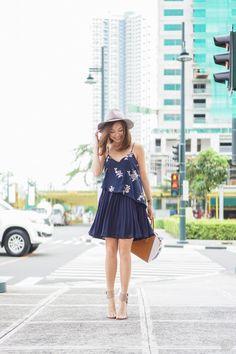 navy Tobi dress