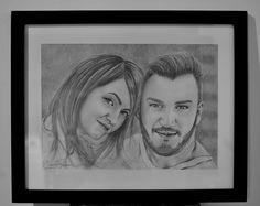 portraits, pencil