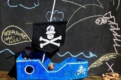 How to… Make a Pirate Boat Newspaper Craft Basket, Newspaper Crafts, Easy Paper Crafts, Crafts For Boys, Family Crafts, Crafts To Make, Fun Crafts, Pirate Day, Pirate Birthday