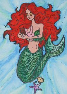 breastfeeding mermaid