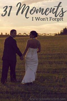 31 Moments I Won't Forget: Happy Birthday Husband - Tickled Scarlett Blog