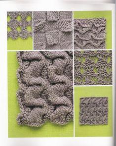 reversible knitting, cool patterns