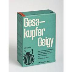 Gesakupfer Geigy / Gésacuivre Geigy-Verpackung