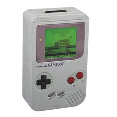 CHA CHING: Keep track of your savings and save up for your next game with the help of this Nintendo Game Boy Tin Money Box, inspired by the iconic original Game Boy. ** You can get more details by clicking on the image. (As an Amazon Associate I earn from qualifying purchases)