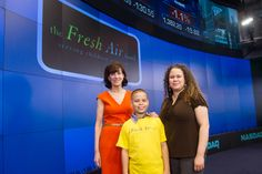 The Fresh Air Fund's Executive Director, Jenny Morgenthau, was joined by a group of excited Fresh Air children to ring the opening bell for the NASDAQ Stock Market today, April 10, 2012!