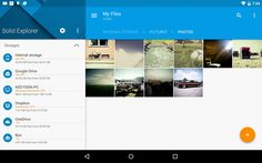 Solid Explorer is a clean-looking app for accessing files stored on your phone or in the cloud.