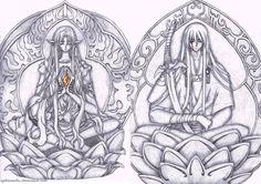 Ashura and Yasha from Tsubasa: Reservoir Chronicle fan art