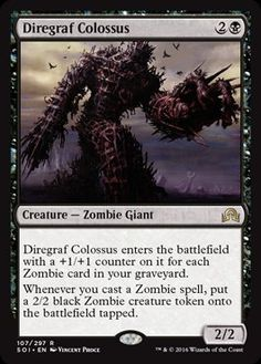 Shadows Over Innistrad: Diregraf Colossus