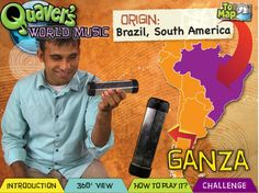 Explore instruments from around the World with Quaver's World Music features!